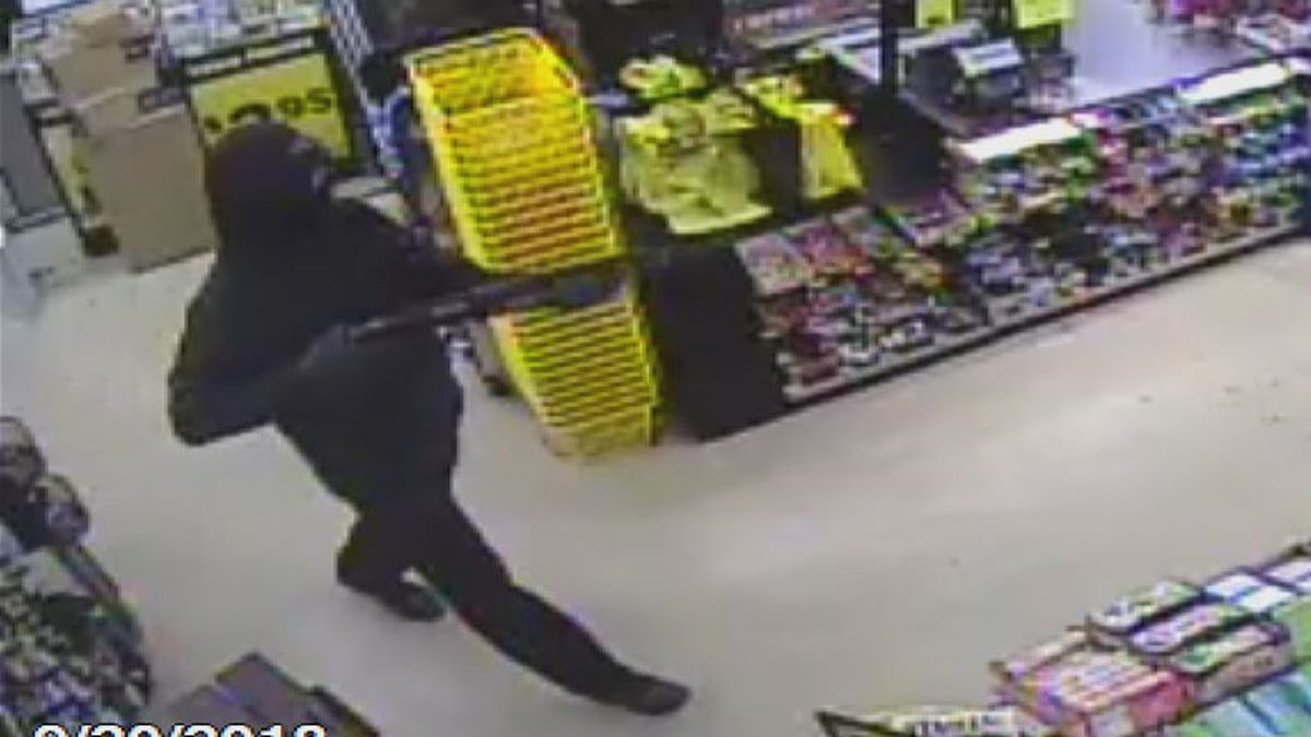 Police: Man with shotgun robs Green Twp Dollar General