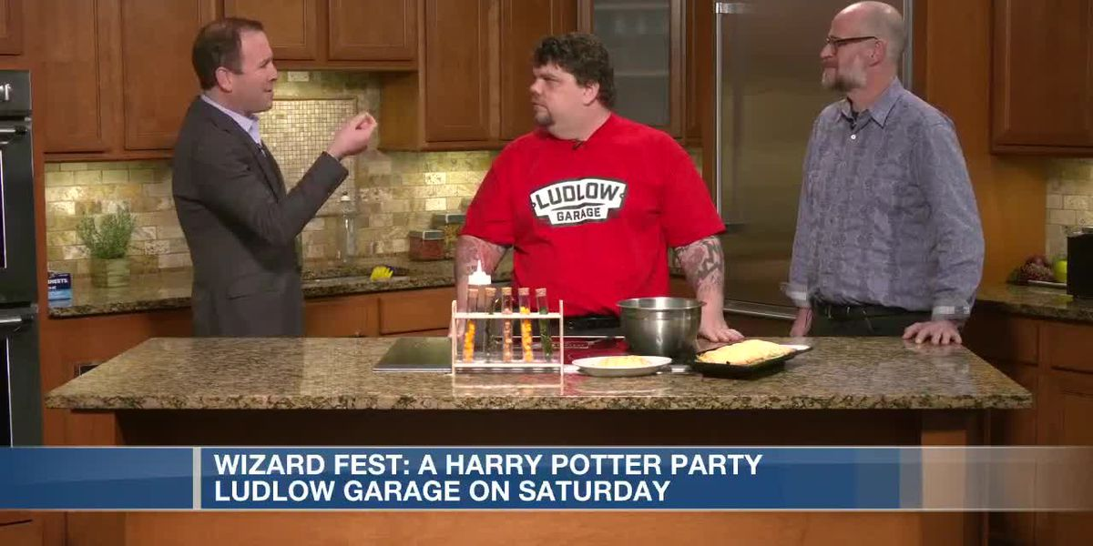 Calling All Wizards for Wizardfest: A Harry Potter Party