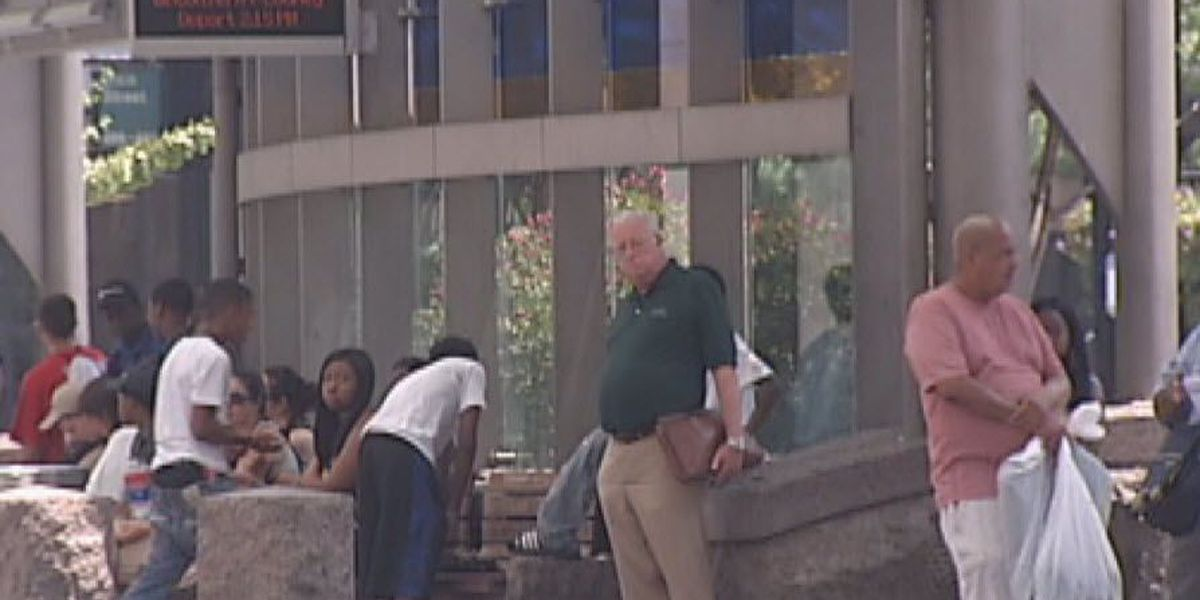 Downtown bus station treated for pests after video shows insects in benches
