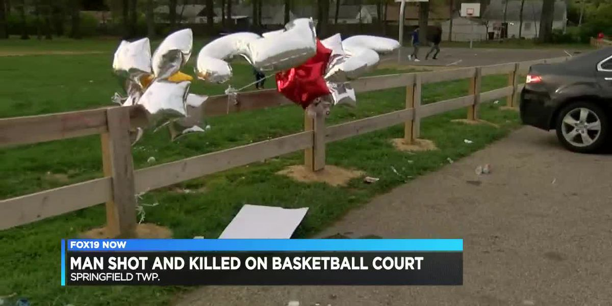 Man shot and killed on basketball court
