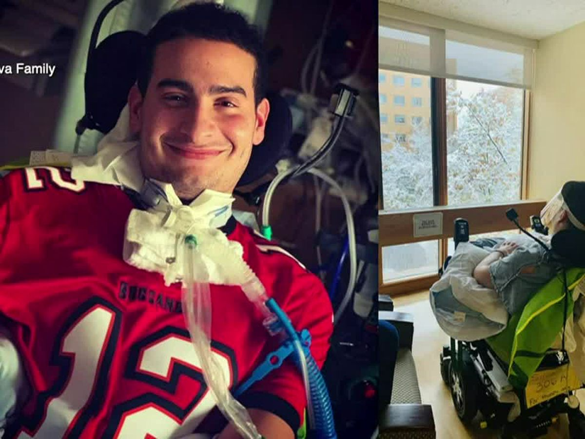 Florida nurse returns home after being paralyzed from rare COVID-19-related infection