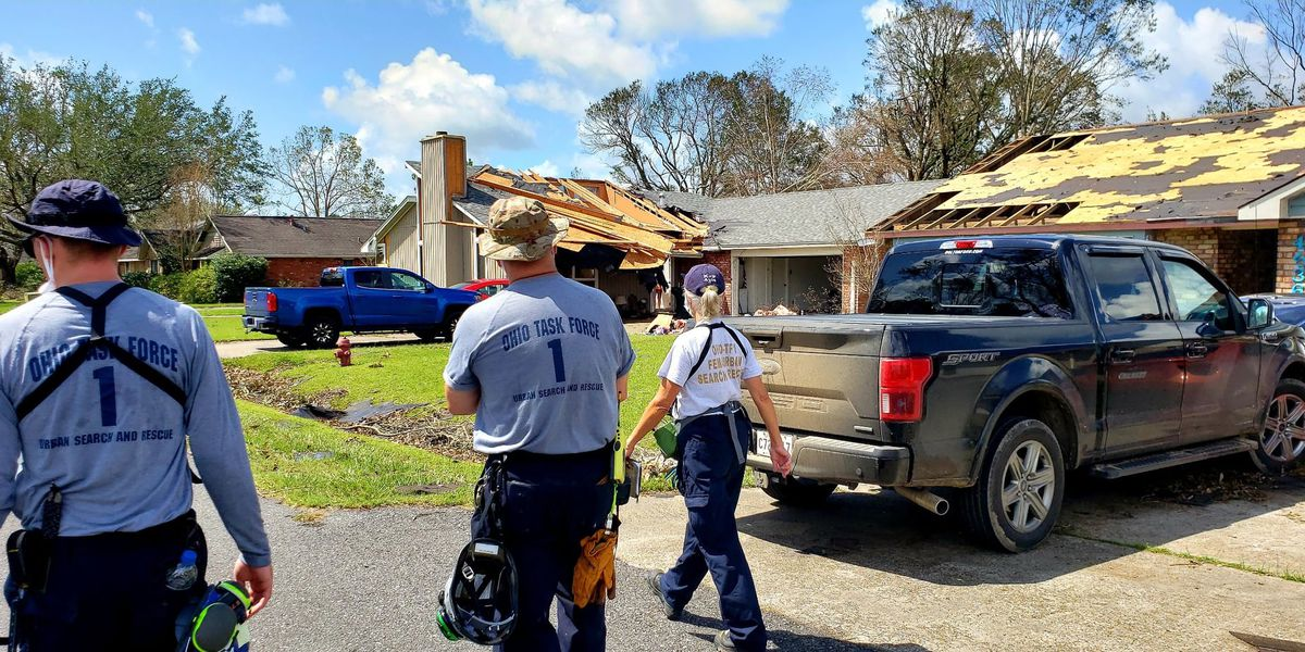 Ohio team returning home after Hurricane Laura relief mission
