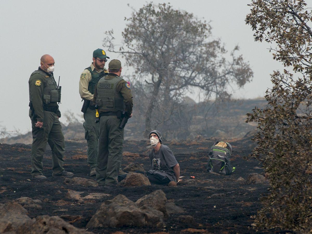 Rain could hamper search for victims of California wildfire