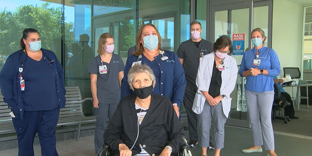 Local cardiac arrest patient heads home after 49 days in hospital