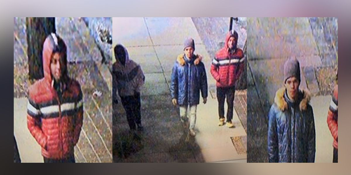 Police ask the public for help in identifying 3 suspects involved in multiple robberies and thefts