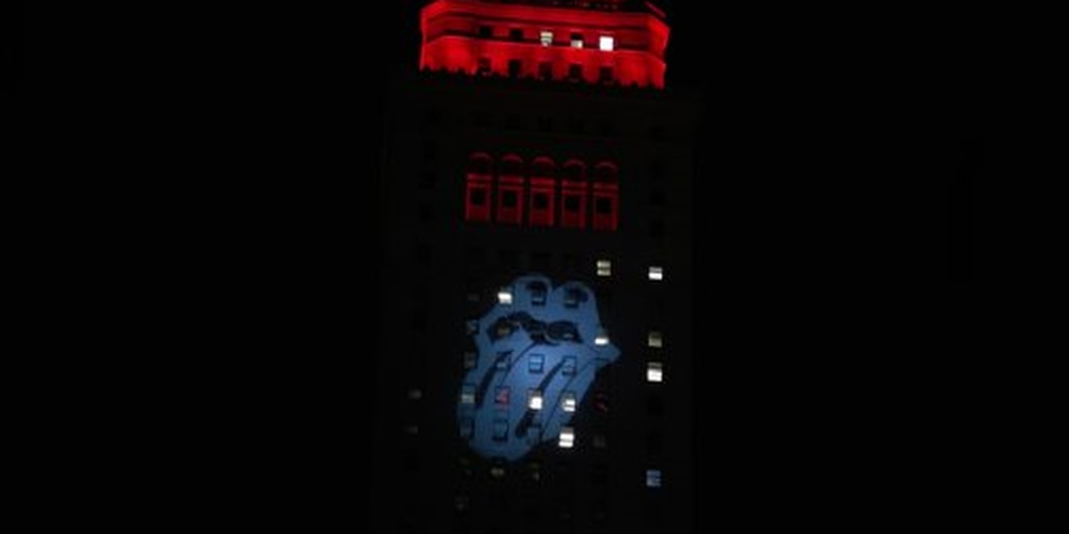 Are the Rolling Stones headed to Cleveland? Logo on Terminal Tower has the city buzzing
