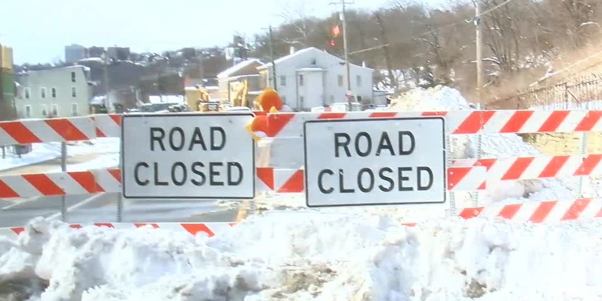 Riverside Drive water main repairs on schedule even with record snowfall