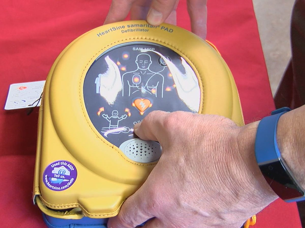 Realtors with Heart donates life-saving defibrillators to popular camp