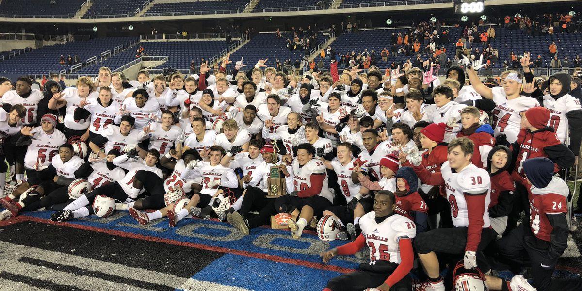 La Salle High School wins D-II state football championship