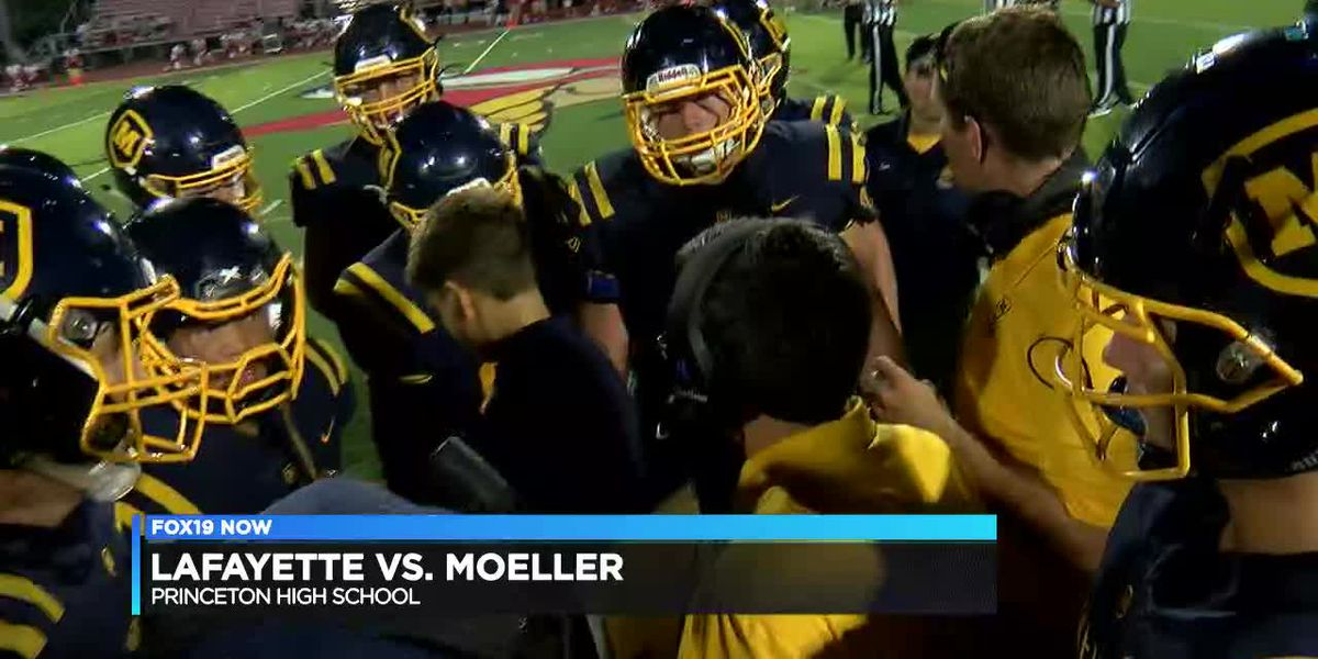 Moeller wins first game of season over Lafayette