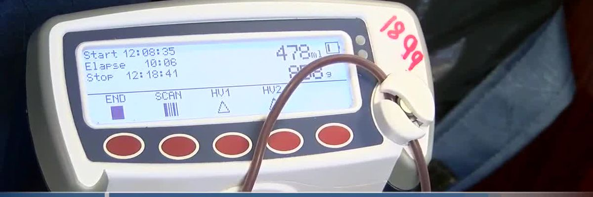 Local school blood drive in honor of parent fighting blood cancer