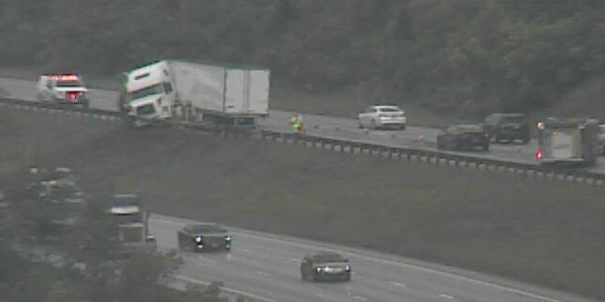 'Almost all' lanes closed on I-275 NB due to semi crash