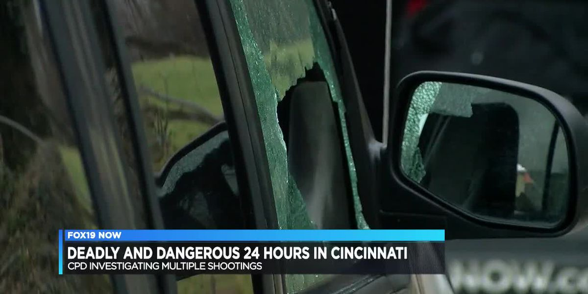 Cincinnati police have hands full with at least 4 shooting investigations
