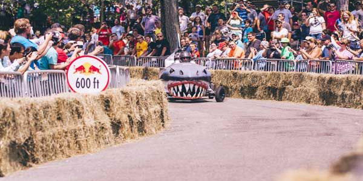 'Peep My Ride' wins 99th Red Bull Soapbox Race in Eden Park