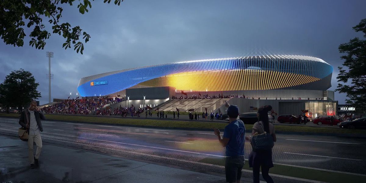 FC Cincinnati unveils new design for West End Stadium
