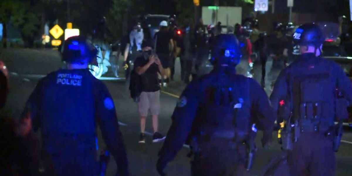 Chief: Violent Portland protests detract from message
