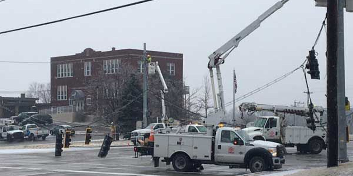 U.S. 27 reopened, downed wires cleared
