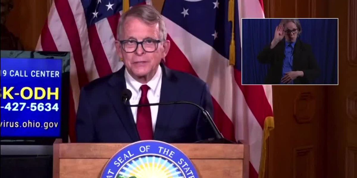Ohio governor offers chance at $1 million prize to get vaccinated