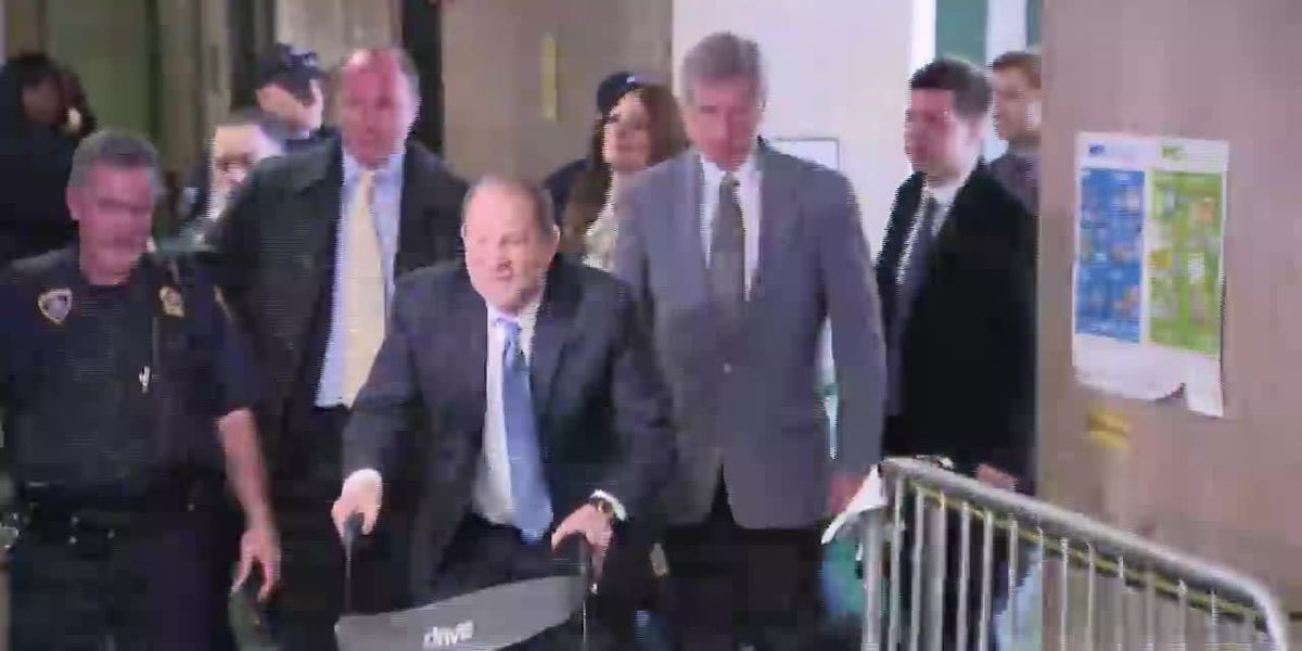 Weinstein hospitalized after rape conviction