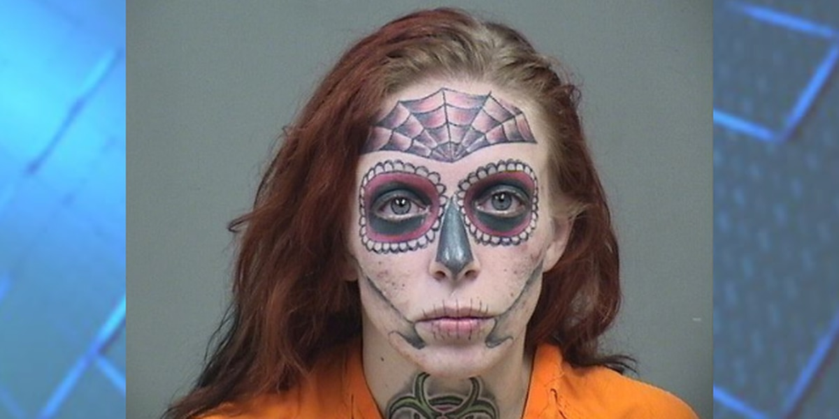 Ohio woman with unforgettable mugshot arrested again on drug, theft charges