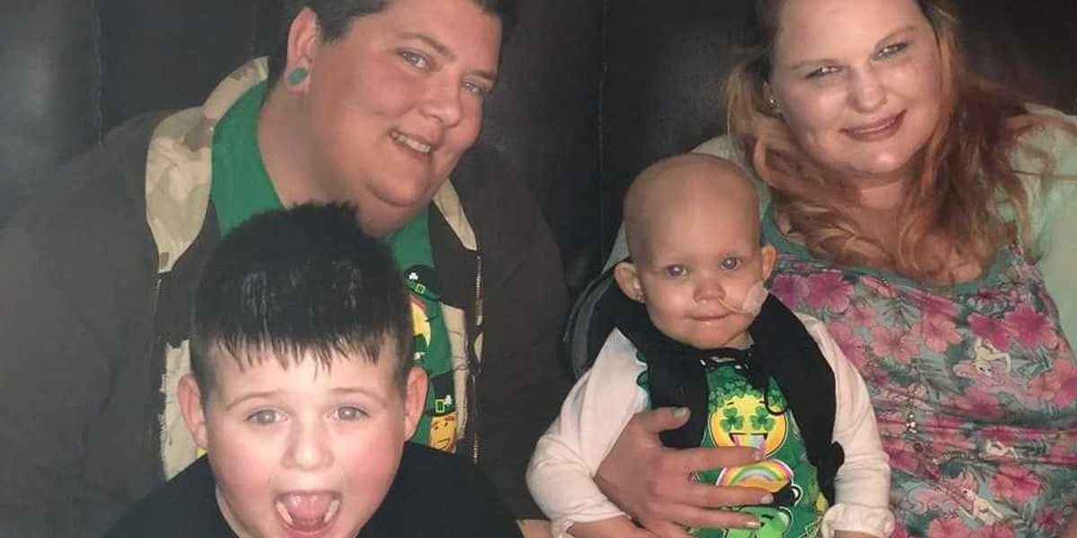 Toddler fighting cancer made honorary roller girl