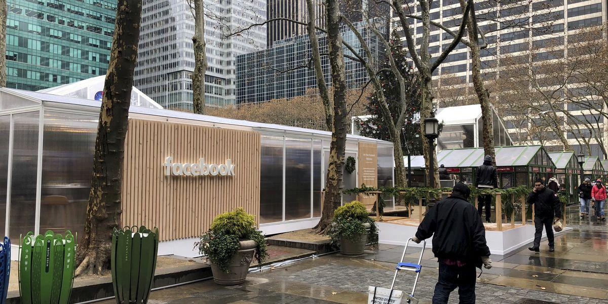 Facebook hosts offline privacy 'pop-up' in New York City