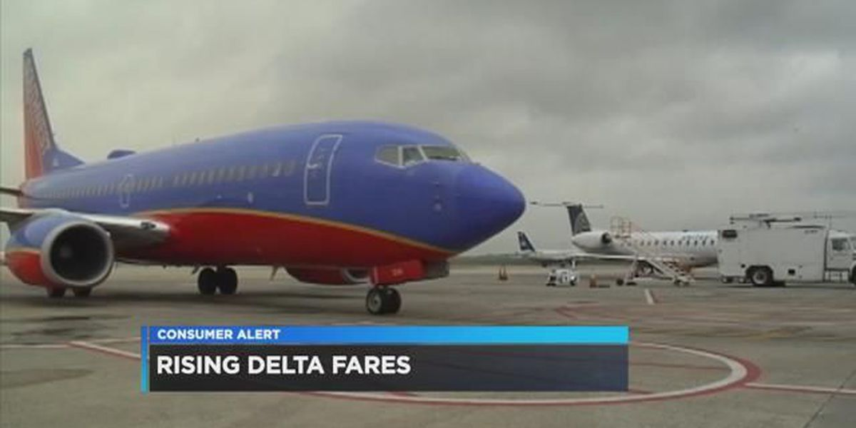 Simply Money: Rising Delta Fares