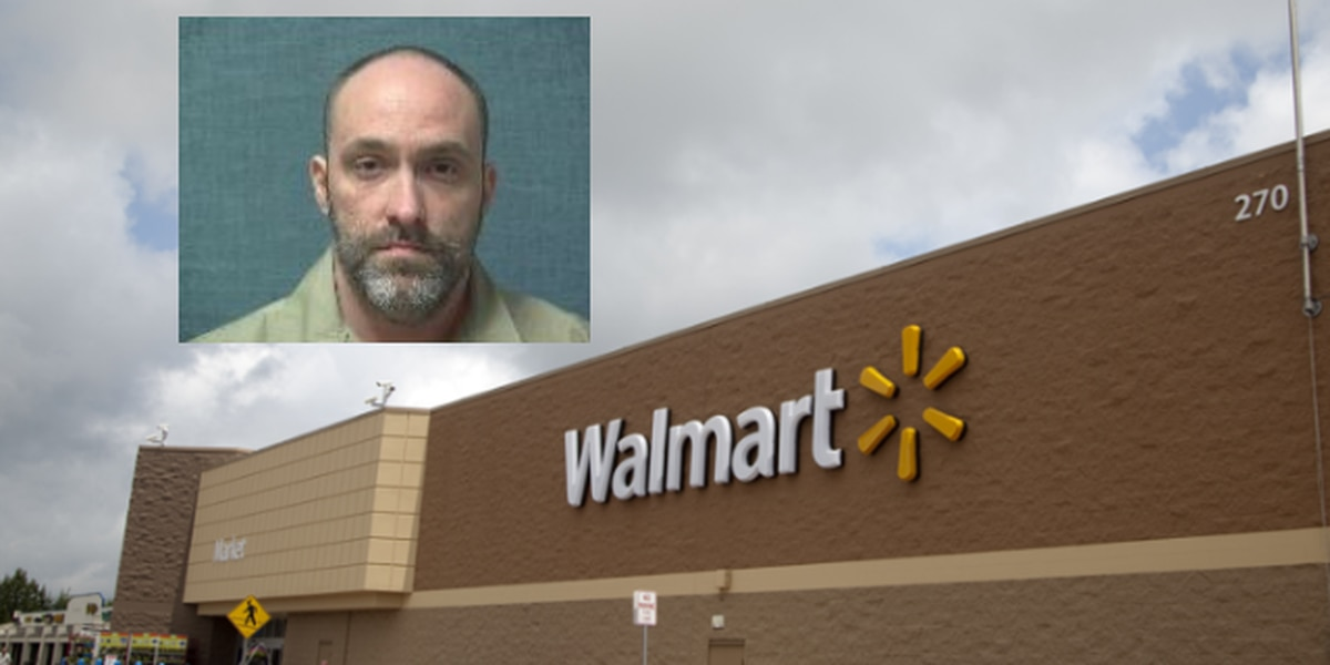 Man arrested after refusing to show receipt to greeter at Canton Walmart, making threats to police