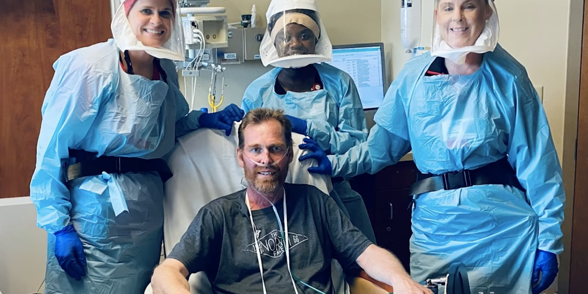 Lymphoma patient makes 'remarkable' recovery after 5-week battle with virus