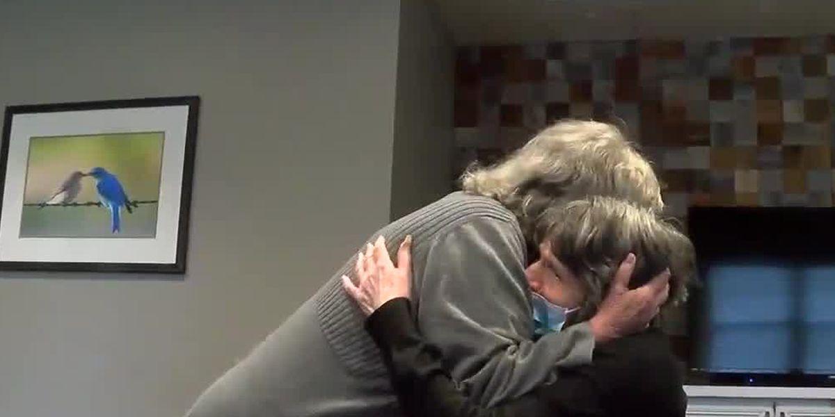 NKY nursing home residents finally get to hug, see family members