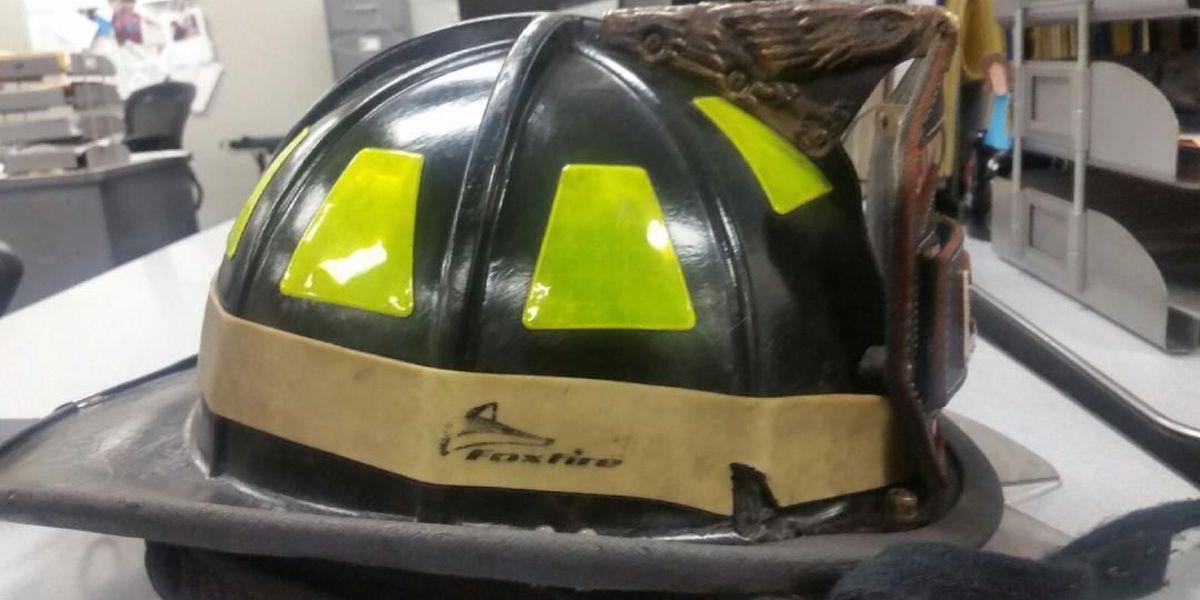 Police confirm bullet struck firefighter's helmet during fire