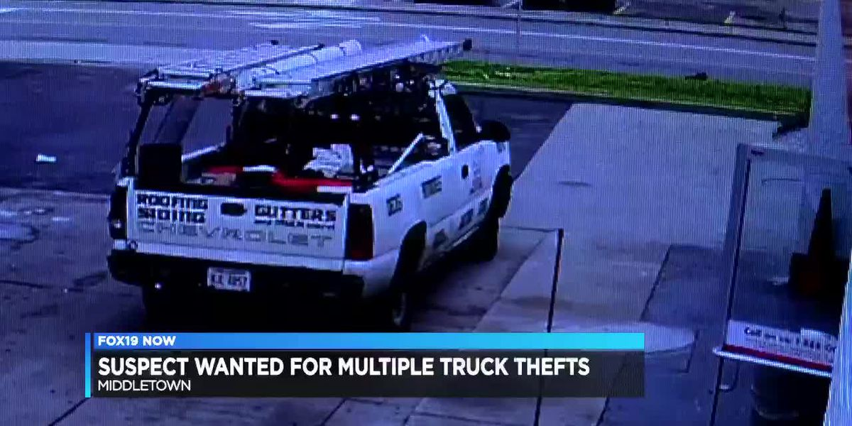 Suspect wanted for multiple truck thefts
