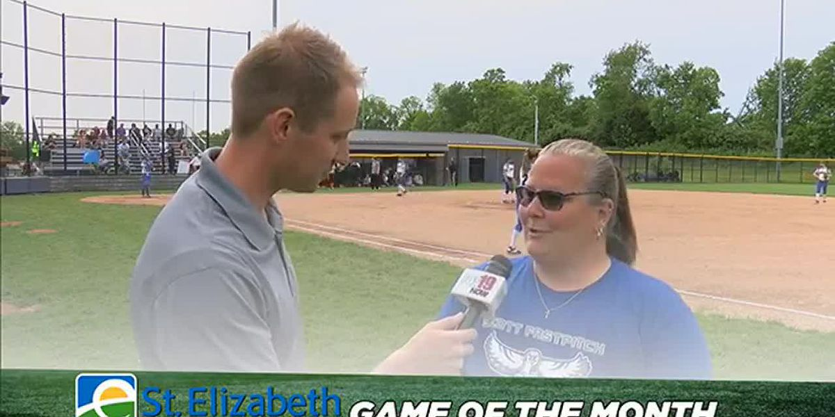 St. Elizabeth Game of the Month - Scott High School Eagles softball