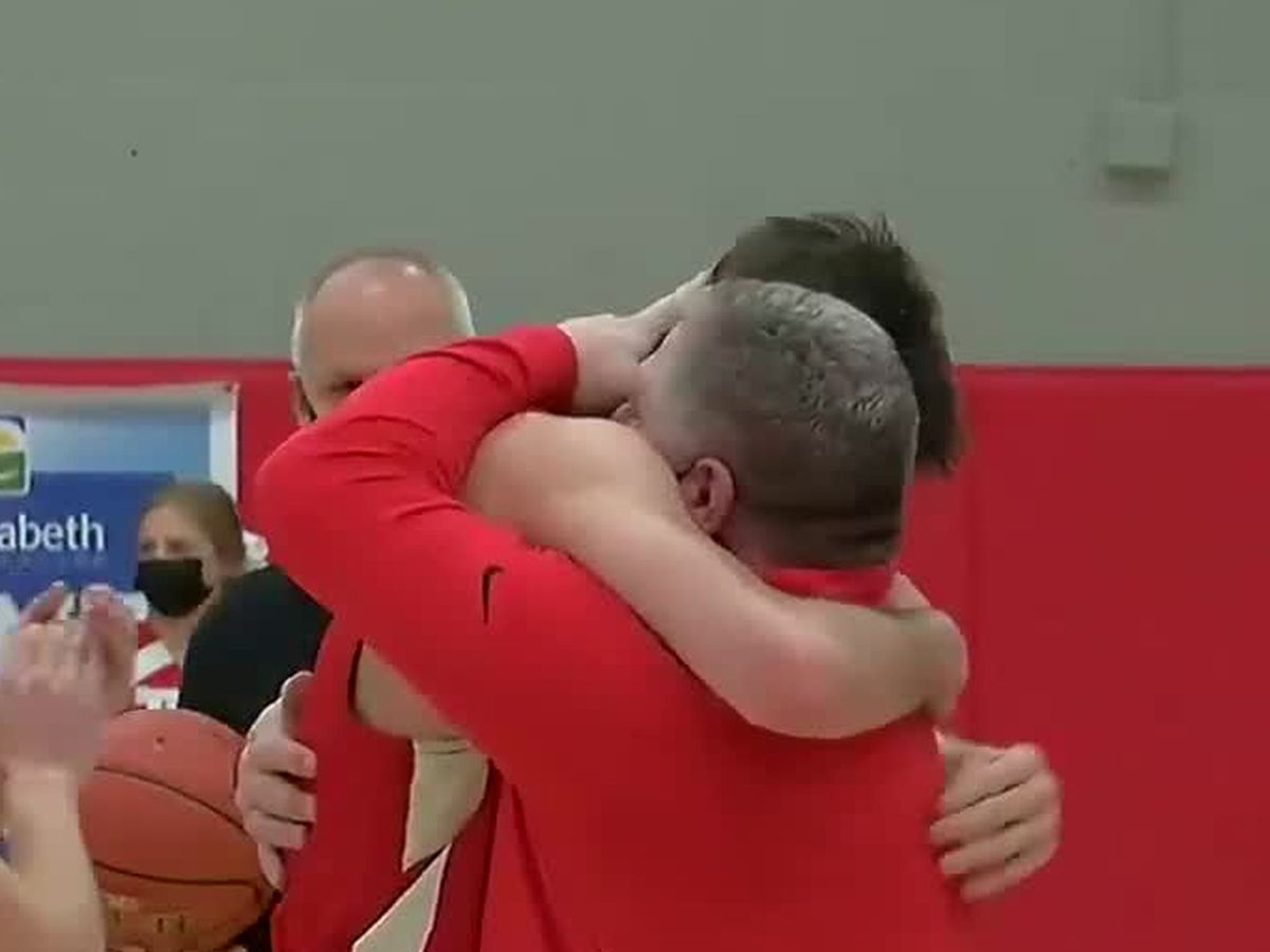 Son surpasses father's point total on way to all-time NKY record: 'It's beyond unique'
