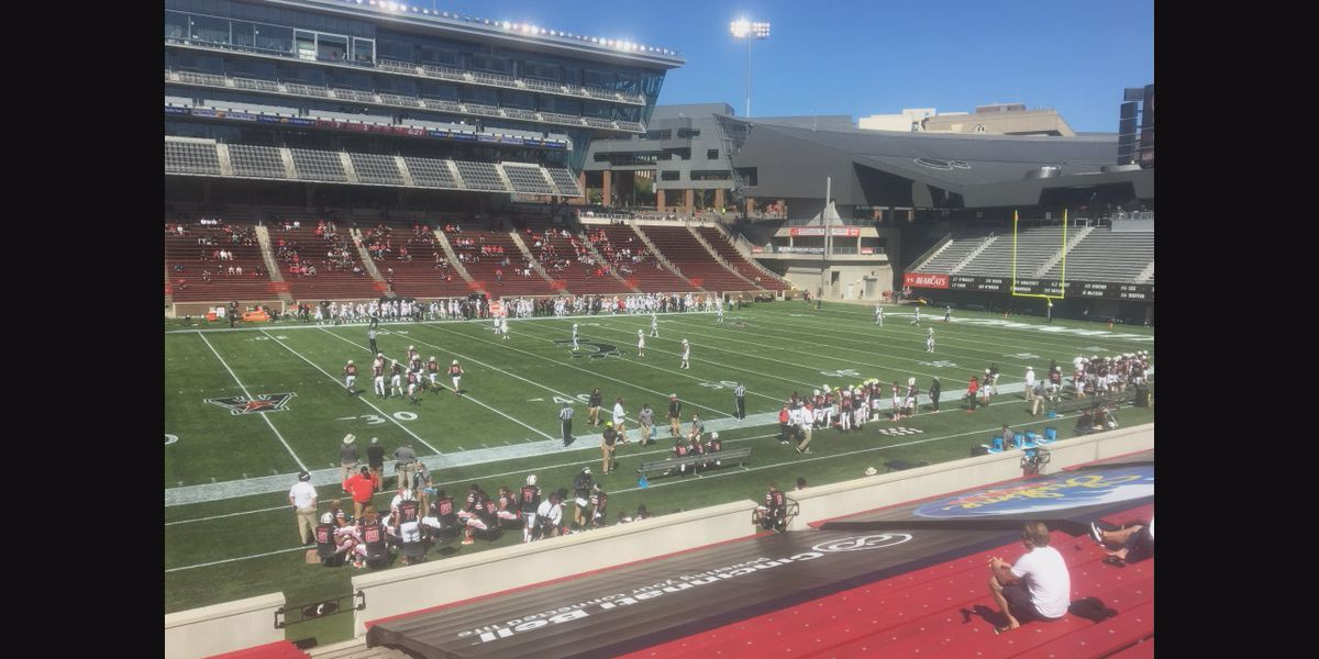 UC wins season opener in front of limited fans