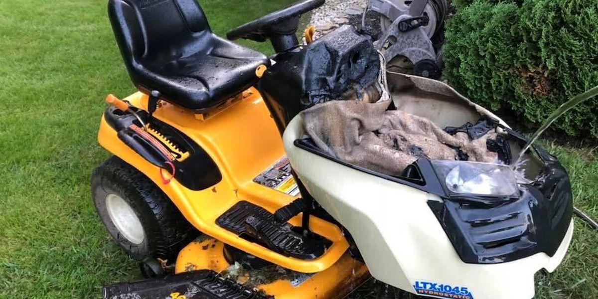 'Rash' of older-model Cub Cadet lawn mower fires raising eyebrows in Goshen Twp