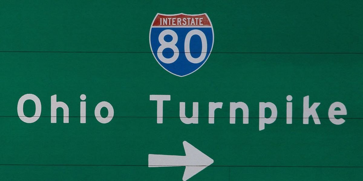 Travel ban on parts of the Ohio Turnpike due to high winds