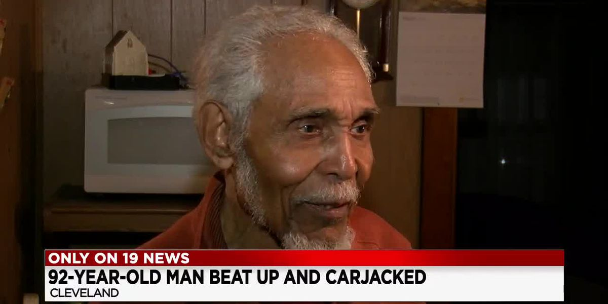 'I wasn't giving up without a fight!': 92-year-old Cleveland man goes toe to toe with armed carjackers