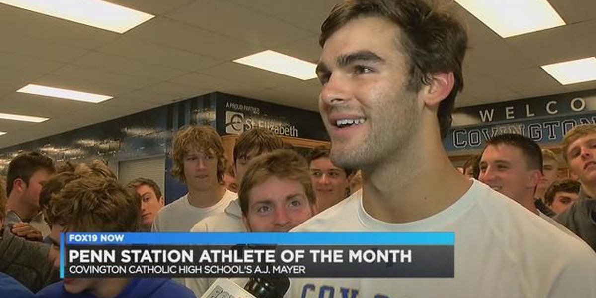 November Penn Station AOM – Covington Catholic's AJ Mayer