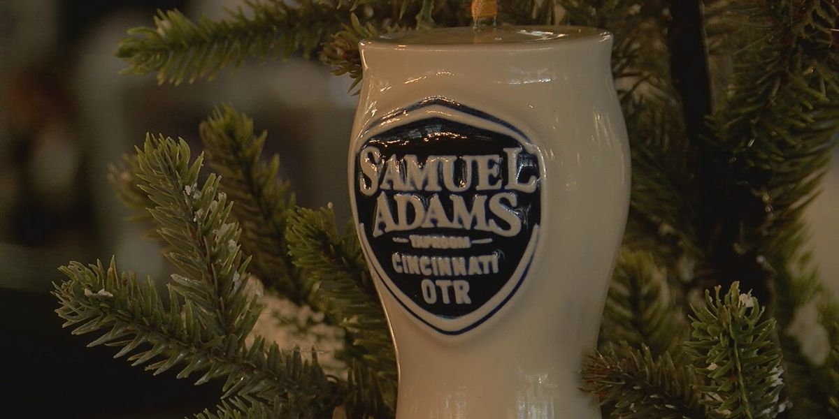 Sam Adams partners with Rookwood Pottery for holiday ornament