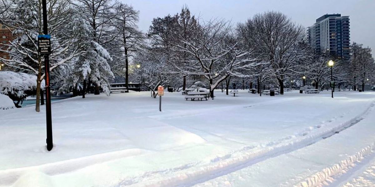 Sleds, shovels put to use as Tri-State blanketed by snowfall