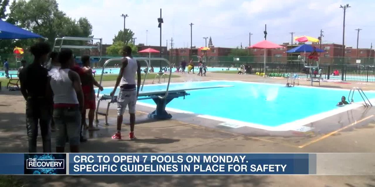 CRC to open 7 pools Monday
