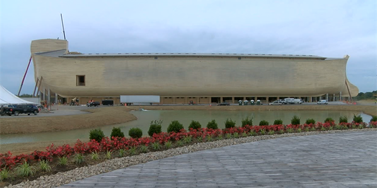 Inside look at the Ark Encounter