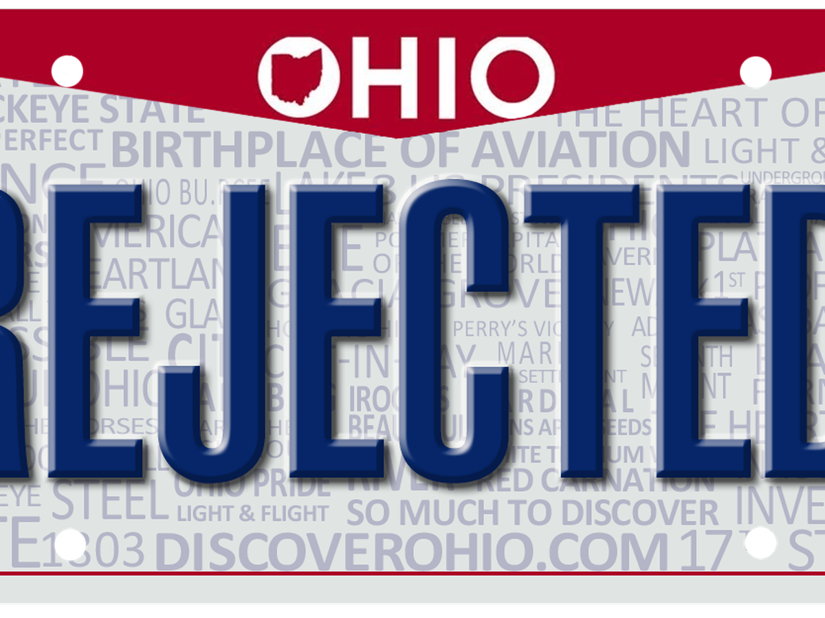 Too raunchy for the road: Rejected vanity plates of 2019