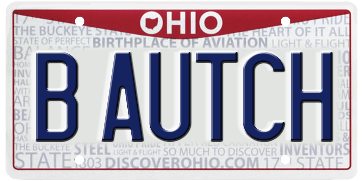 'B AUTCH' and 1,700 other vanity plates rejected by the Ohio BMV this year (graphic)