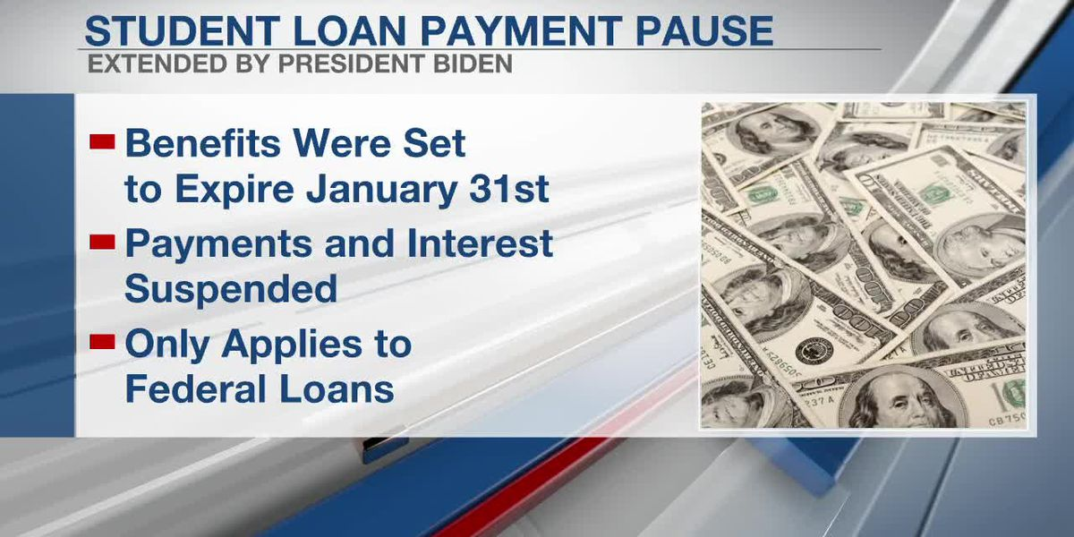 Student loan payment pause extended until October