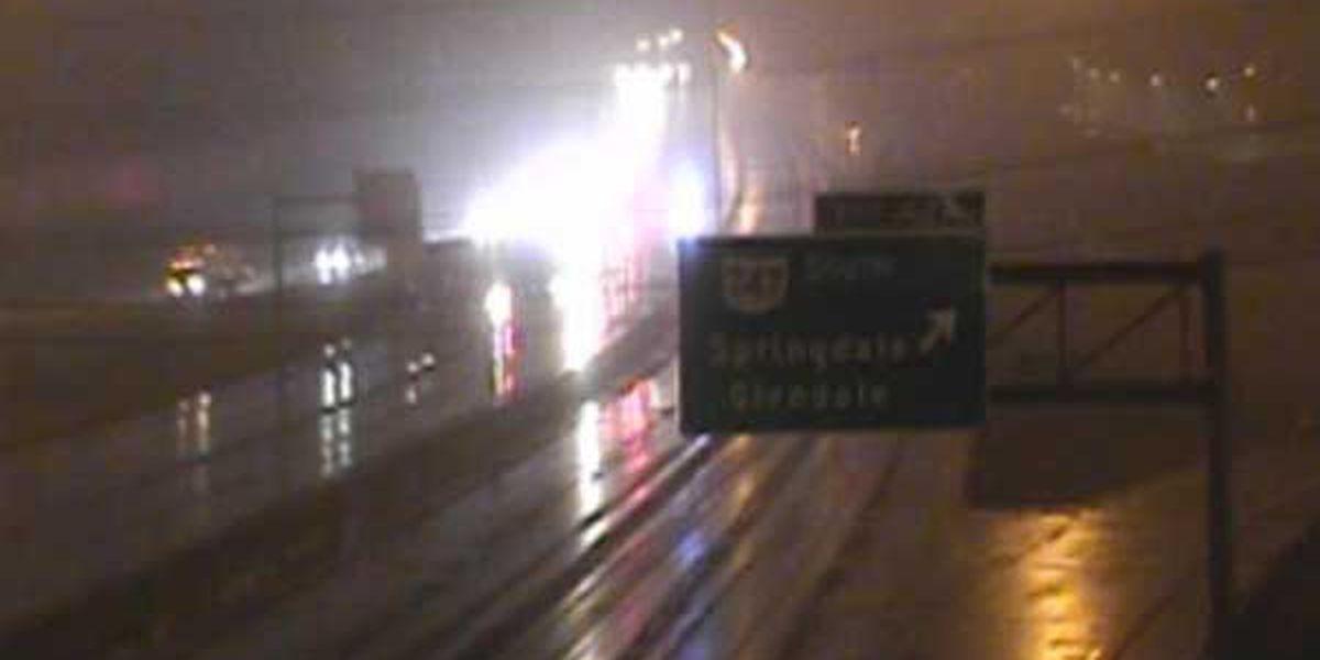Semi crash clears EB I-275