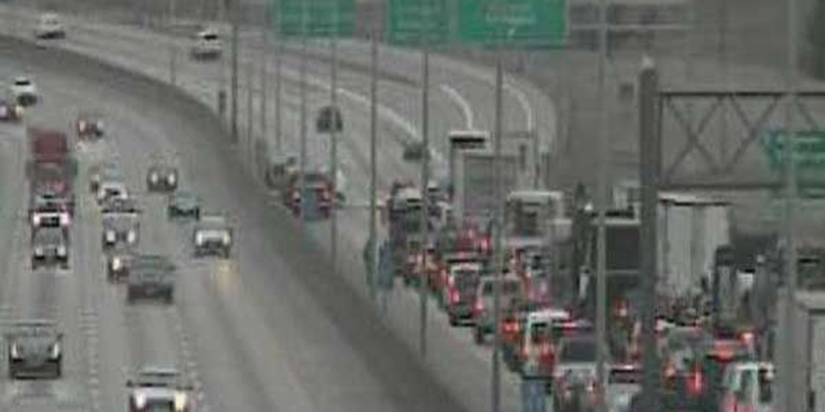 NB I-71/75 reopens after crash snarls Cut in the Hill