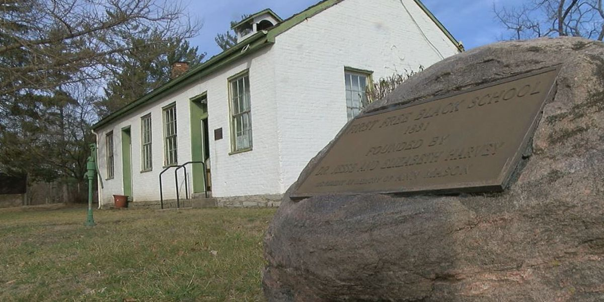 New roof donated for historic Harveysburg school