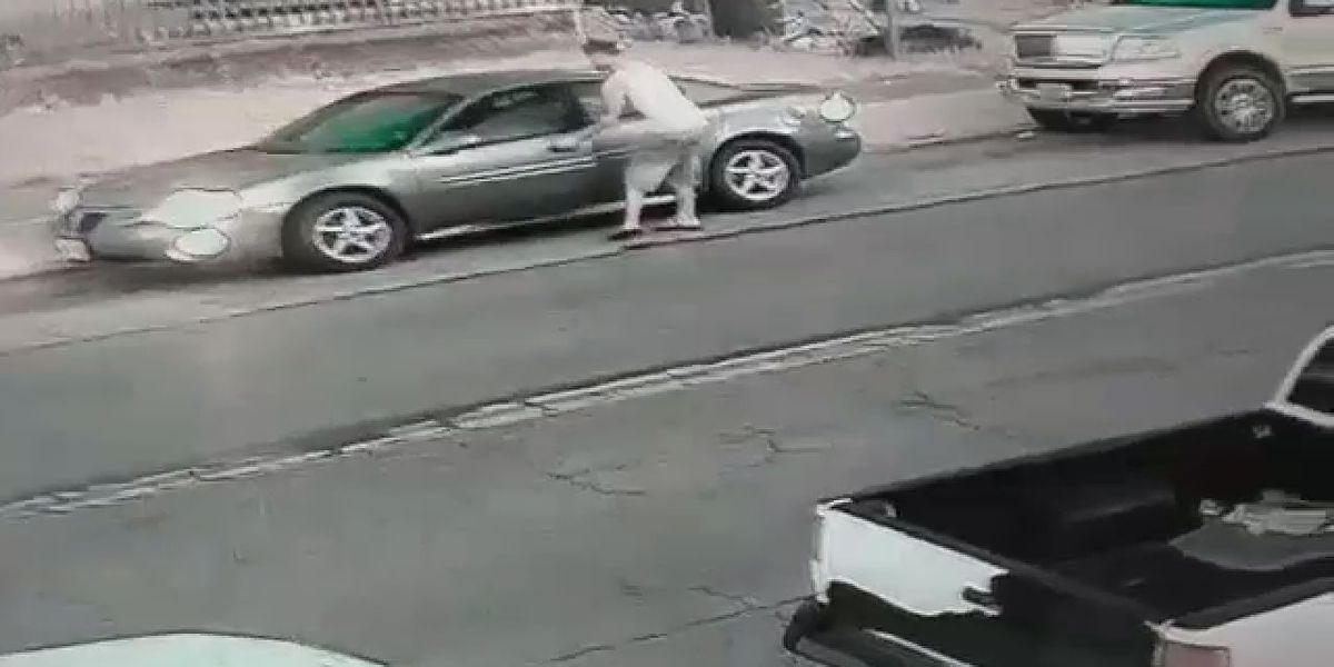 Video catches Hamilton thief make away with man's car in under a minute